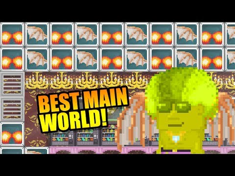 BUILDING THE BEST MAIN WORLD! | Growtopia