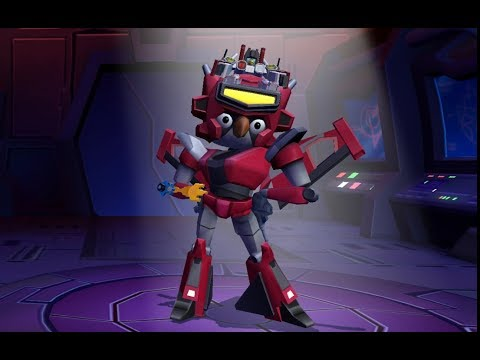 ELITA ONE ARRIVES EARLY! - Angry Birds Transformers #34