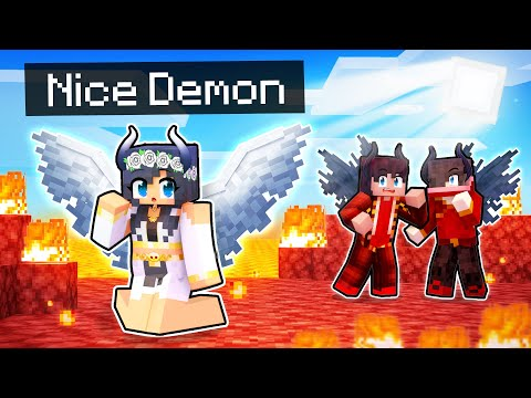 Playing as the NICE DEMON In Minecraft!