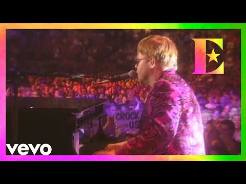 Elton John - Crocodile Rock (Madison Square Garden, NYC 2000)