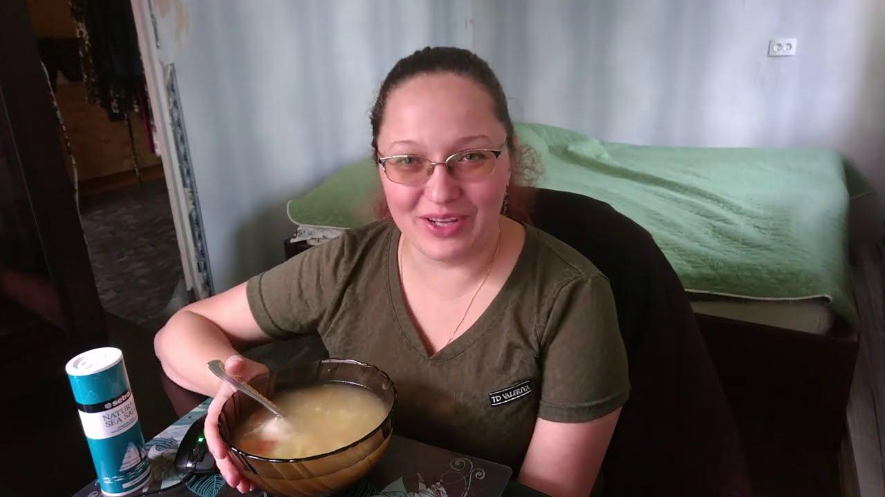 Mukbeng. Мукбанг. Ем суп куриный.  Посмотрела фотки и расстроилась.
