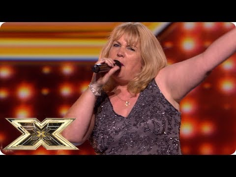 Entertainer Sammi Shepherd sings for her X Factor supper!   Auditions Week 4   The X Factor UK 2018