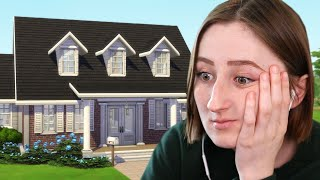 I tried building a cheap house for a BIG family in The Sims 4