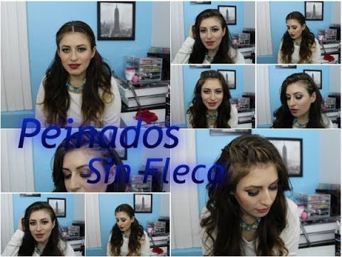 15 Peinados Sin Fleco Youtube