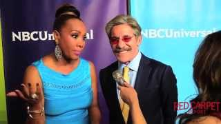 Vivica A  Fox & Geraldo Rivera at the NBC/Universal Winter TCA Press Tour #TCA2015