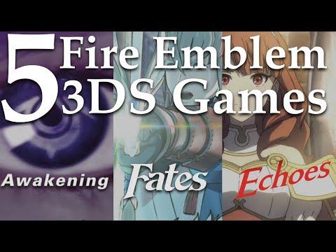 Top 5 Fire Emblem 3DS Games