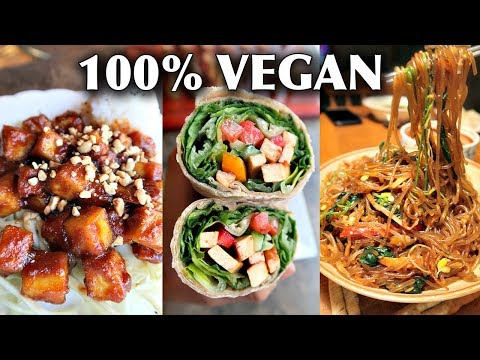 WHAT I ATE IN A WEEK AS A VEGAN (BUSY AF!)