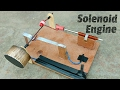 How To Make Solenoid Engine Electric Motor mp3