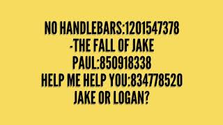 Logan paul roblox id song codes!