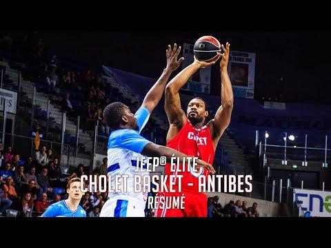 Antibes - Cholet Basket: Résumé du Match