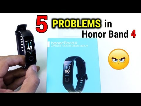 5 BIGGEST Problems with Honor Band 4 | Should you BUY ?