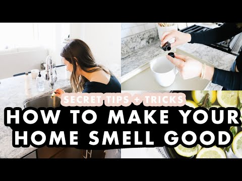 How To Make Your Home Smell Good | What William Sonoma Uses To Make Their Store Smell AMAZING!!