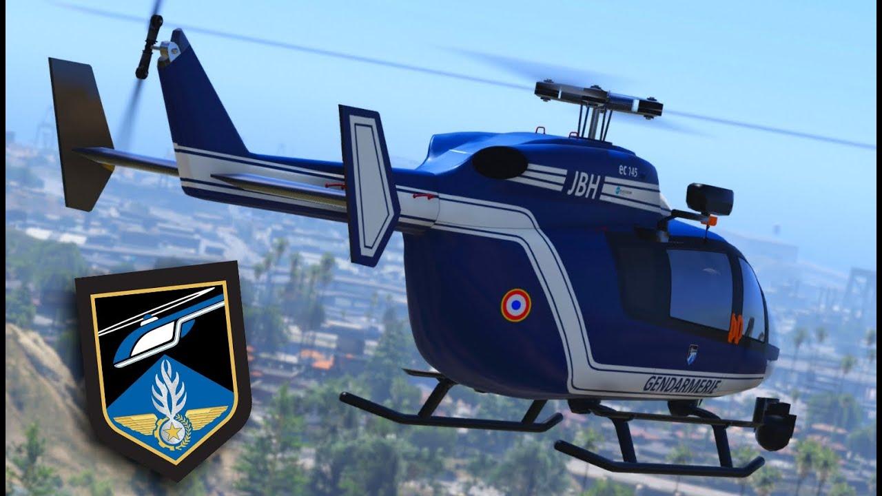 gta 5   forces a u00e9riennes de la gendarmerie nationale