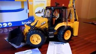 Unboxing Bruder JCB 5CX Eco Backhoe Loader