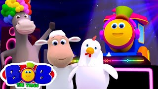 Animal Sounds Songs for Kids   Bob The Train Nursery Rhymes & Songs for Babies   Funny Animals
