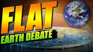 Monday Night Debates - Flat Earth - FTFE & Team Skeptic VS James George