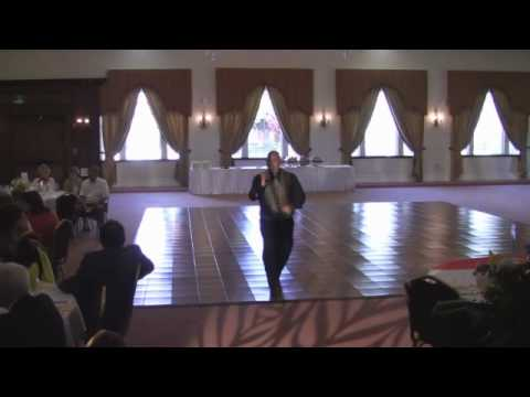 Afternoon Wedding with Karaoke Hellenic Center Legos puzzles and fun with DJ Mikey Mike