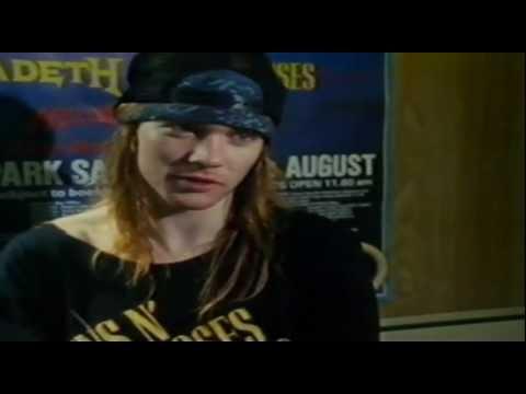 8866c37c6d Axl Rose Interview - YouTube