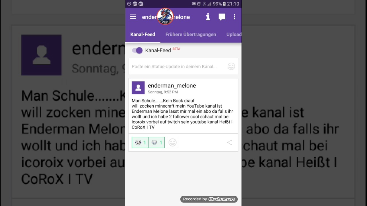 Twitch Name ändern Handy
