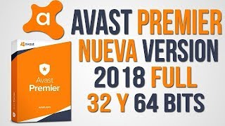 AVAST PREMIER 2018 FULL CON LICENCIA HASTA 2027