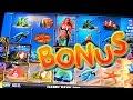 WILD Mermaid BONUS - 1c Spielo Video Slots