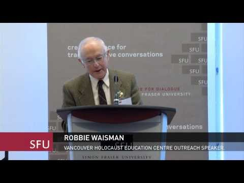 Robbie Waisman, Reconciling Injustices in a Pluralistic Canada