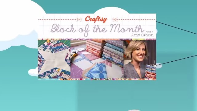 Free online quilting lessons! Craftsy Block of the Month with Amy ... : quilting lessons online - Adamdwight.com