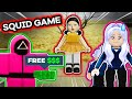 ROBLOX SQUID GAME: WIN TO GET FREE ROBUX?!