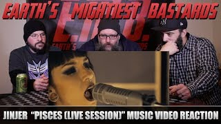 Music Video Reaction: JINJER - Pisces (Live Session)