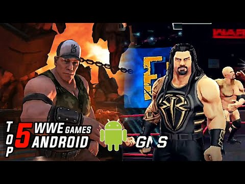Top 5 WWE Games For Android 2019 ( Non Emulator)