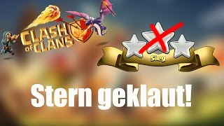 MEGA BUG?: Stern im Clan War geklaut! ✭ Clash of Clans [deutsch / german]