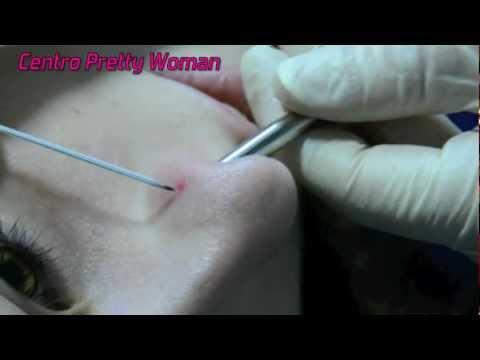 Piercing nariz  (Nostril Nose Piercing)