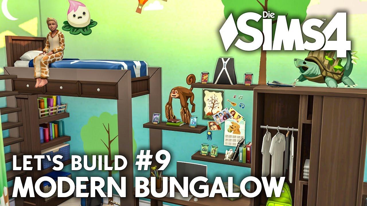 Kinderzimmer Die Sims 4 Haus Bauen Modern Bungalow 9 Let S