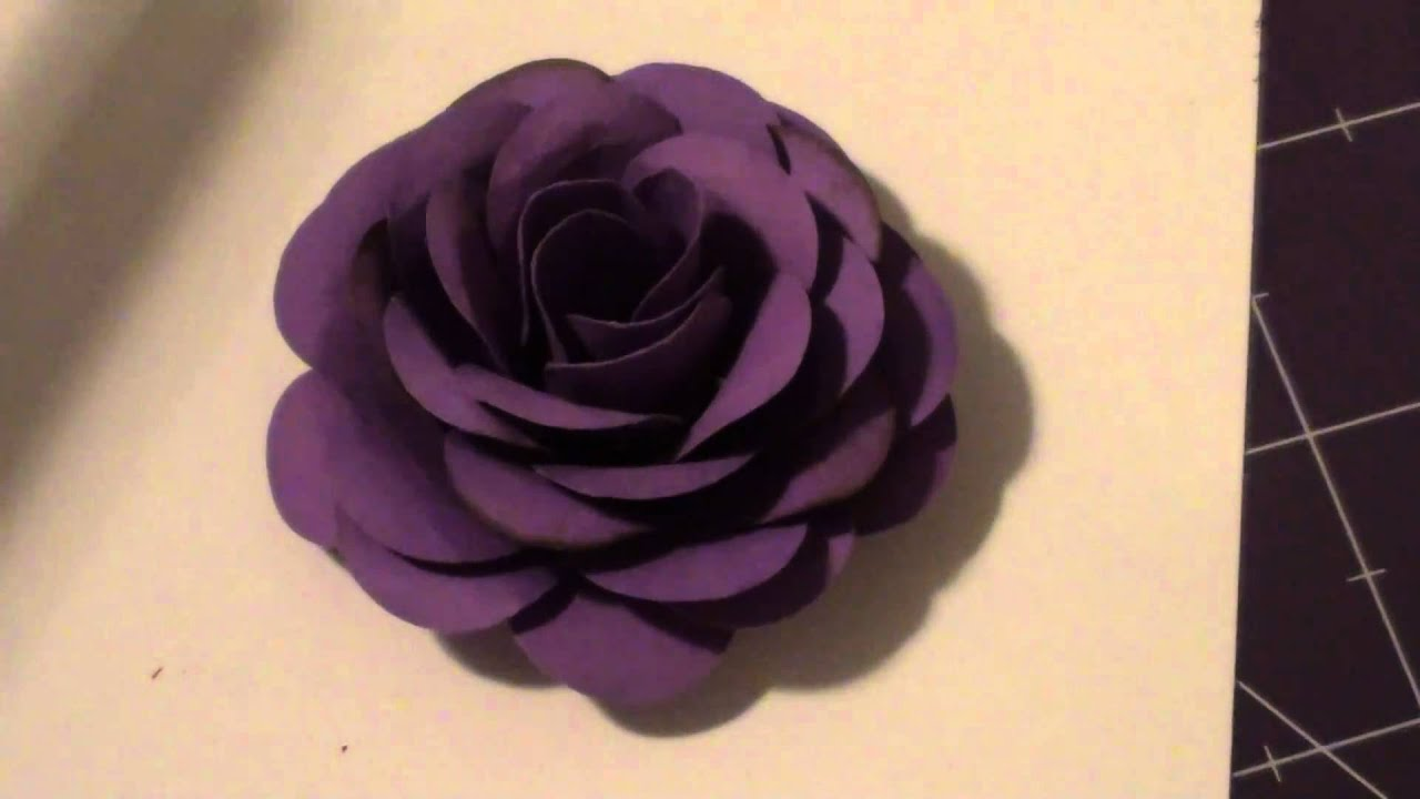 Paper Flower Youtube Kubreforic