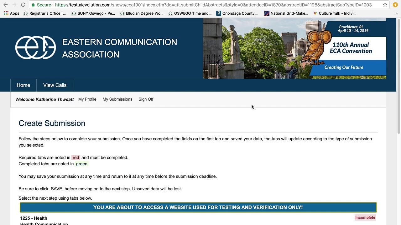 ECA | Eastern Communication Association