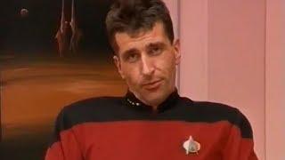 Jo Conrad ist Captain Ron Livingston! [Bewusst.tv/30 Jahre STAR TREK/Galaktische Grüße/1996]