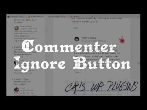 Commenter Ignore Button Preview