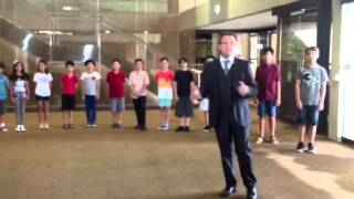 The King and I Child Cast meeting at QPAC