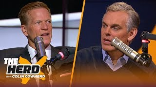 Ric Bucher reflects on Kobe & Gigi Bryant's moving memorial service, talks Zion | NBA | THE HERD