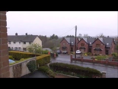 Northern Ireland Weather RANT on end of April Snow
