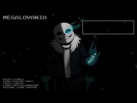 Undertale - Megalovania Piano - Karaoke
