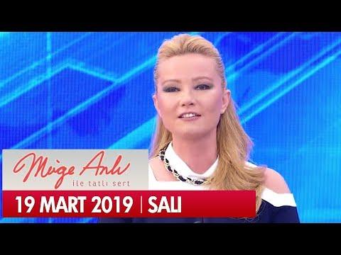 Müge Anlı ile Tatlı Sert 19 Mart 2019 Salı - Tek Parça