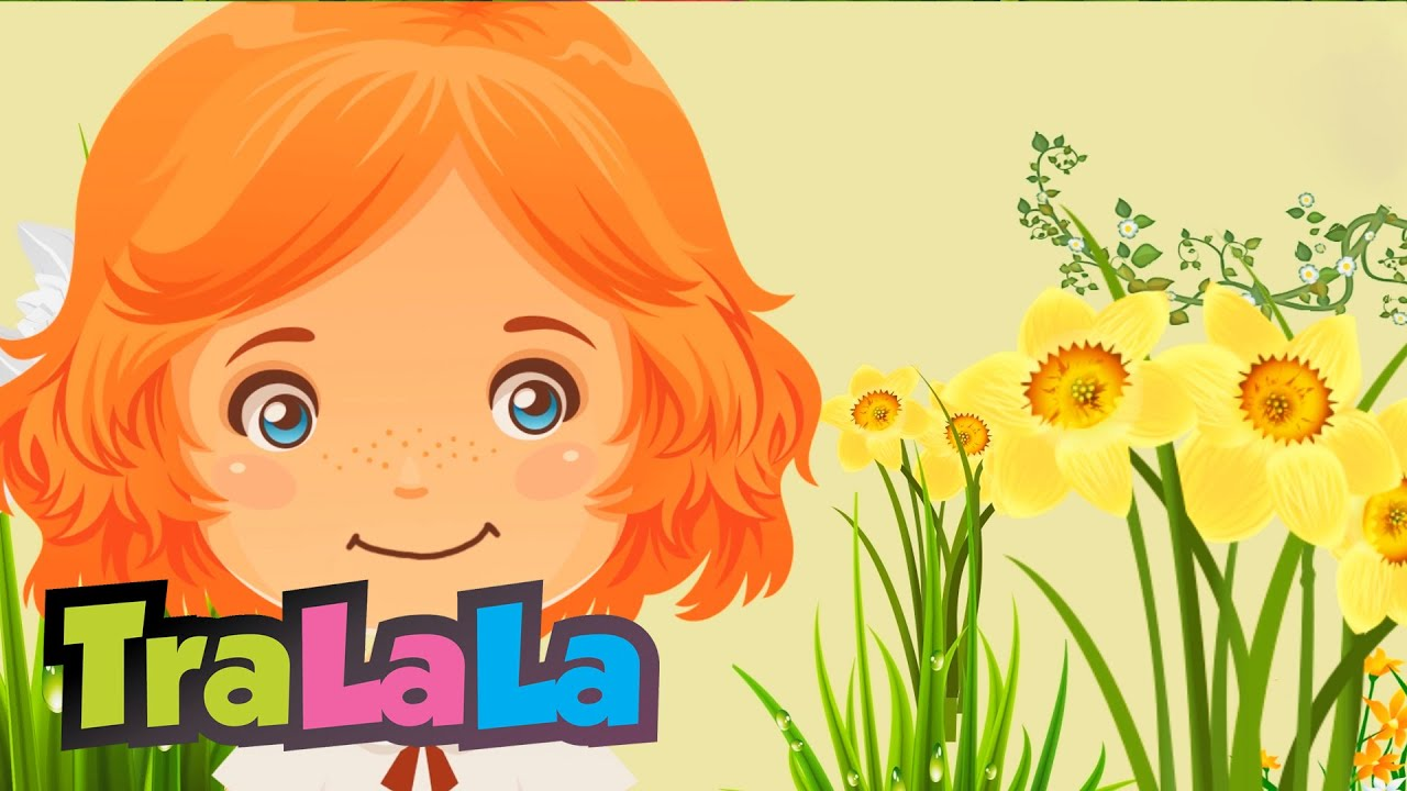 Flori De Primăvară Cantece De Primăvară Pentru Copii Tralala