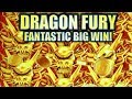 ★NEW SLOT! FANTASTIC BIG WIN!!★ DRAGON FURY (Konami) | Slot Machine Bonus