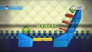 Wii Play Motion: Teeter Targets All Stages Platinum Medal 60fps