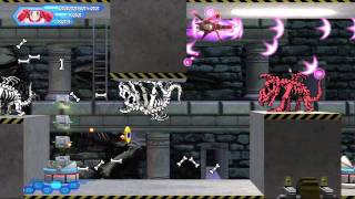 Otomedius Excellent (Xbox 360) DLC Stage EX1 St. Gradius Academy (Expert) with Gesshi Hanafuuma