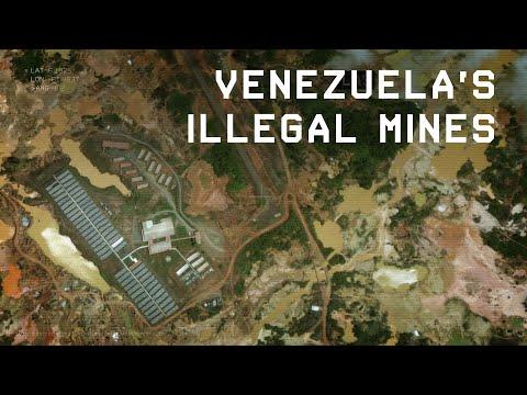 Illegal Gold Mining in Venezuela