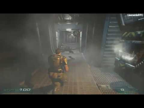 Doom 3 (Third - Person) Walkthrough Part 5 - Alpha Labs 1