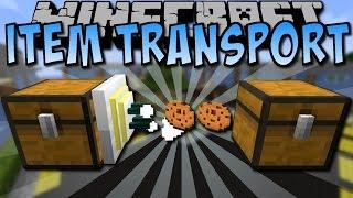 Minecraft ITEM TRANSPORT MOD [Deutsch]