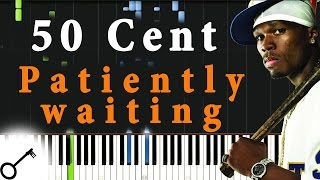 50 Cent - Patiently waiting [Piano Tutorial] Synthesia | passkeypiano